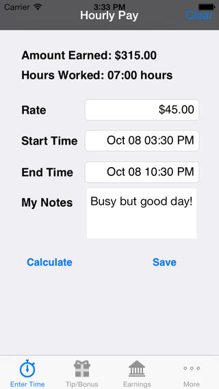 Easy TimeCard