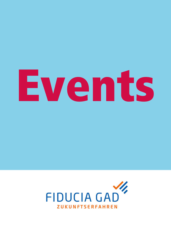 Fiducia  GAD IT AG Events