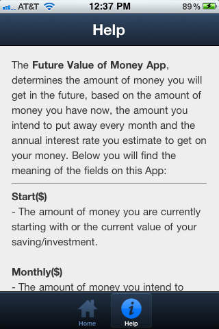 Future Value of Your Money