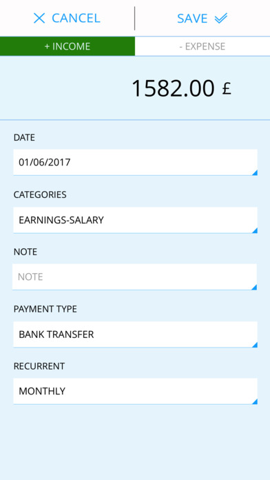Finance Plus - Expense Manager