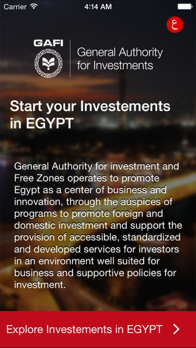 Egypt Investment Map