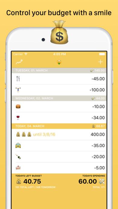 Emojicash - fun money control