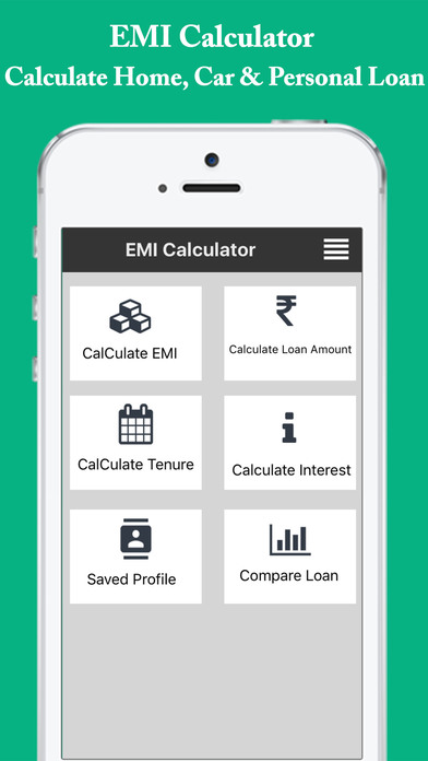 EMI Calculator - Easy EMI,Loan,Interest Calculator