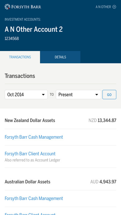 Forsyth Barr Investments Insights App