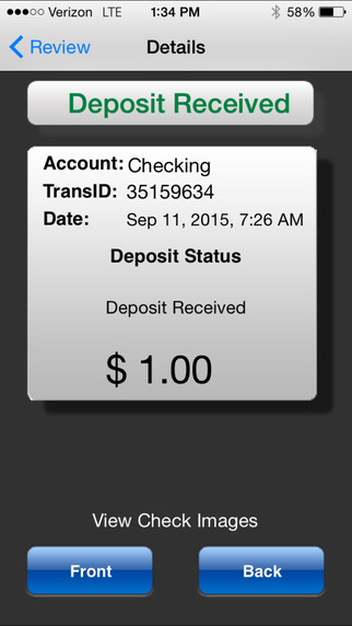 EverBank Business Mobile Deposit