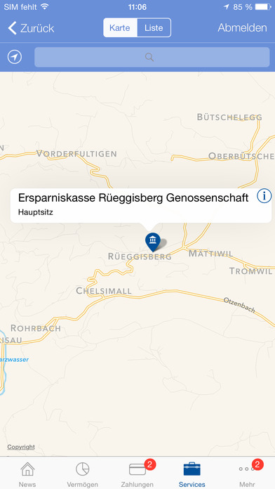 Ersparniskasse Rüeggisberg