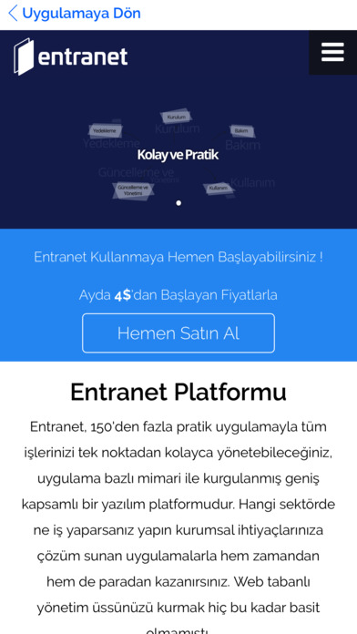 Entranet Cloud Suite