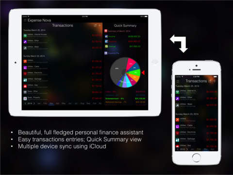 Expense Nova : Home Budget Account Manager