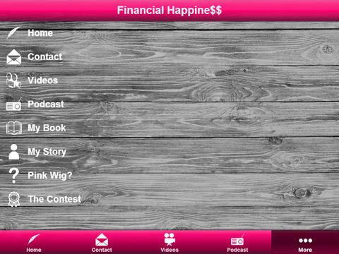 Financial Happine$$