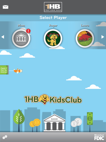 First Home Bank Kids Club