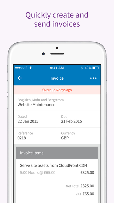 FreeAgent - take care of business wherever you are
