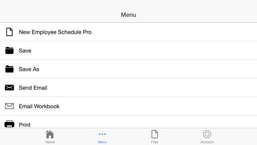 Employee Schedule Pro