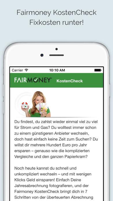Fairmoney KostenCheck