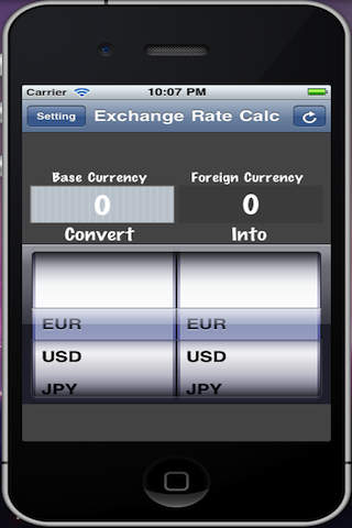 Exchange Rate App