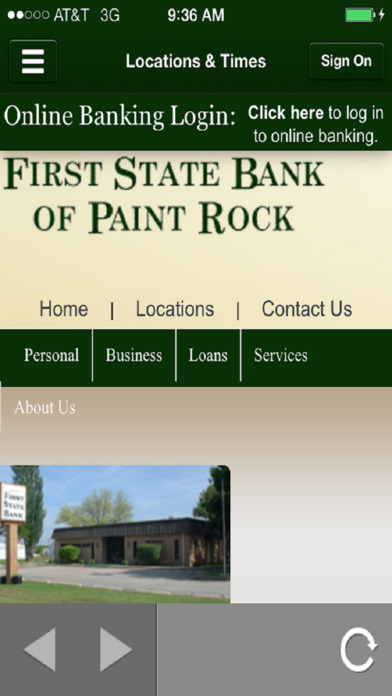 First State Bank of Paint Rock Mobile