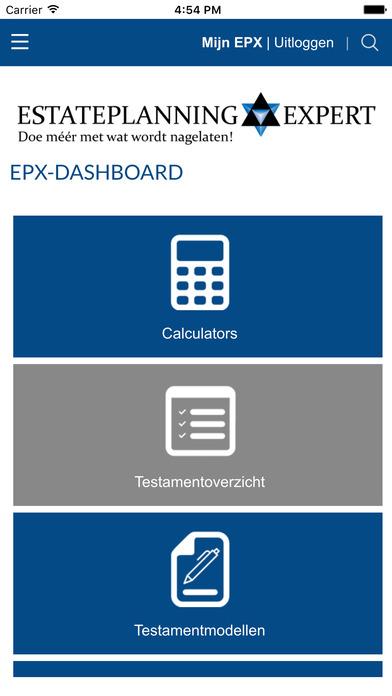EPX-Dashboard