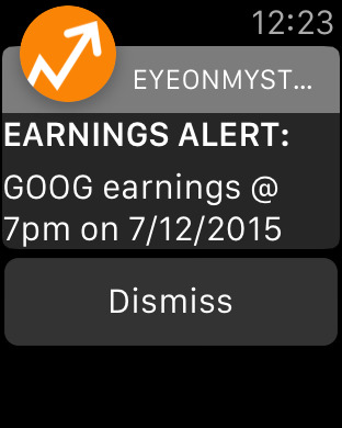 EyeOnMyStocks Real Time Stock Alerts & Market News