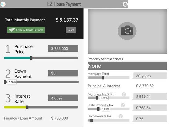 EZ House Payment