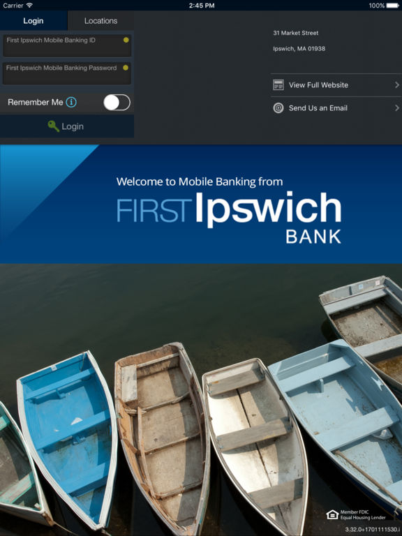 First Ipswich - Mobile Banking