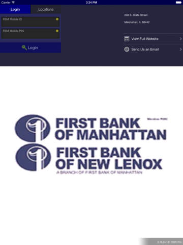 First Bank of Manhattan App