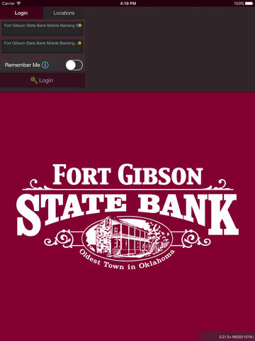 Fort Gibson State Bank