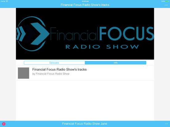 Financial Focus Radio Show