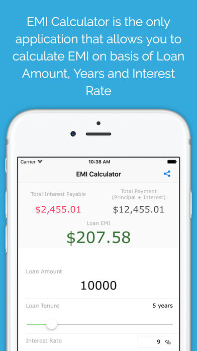 EMI Calculator 2016 Free