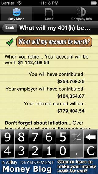 Easy Money Planner Free
