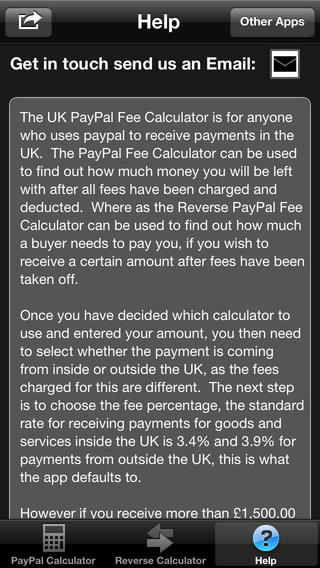 FeeCalc for UK PayPal Fees