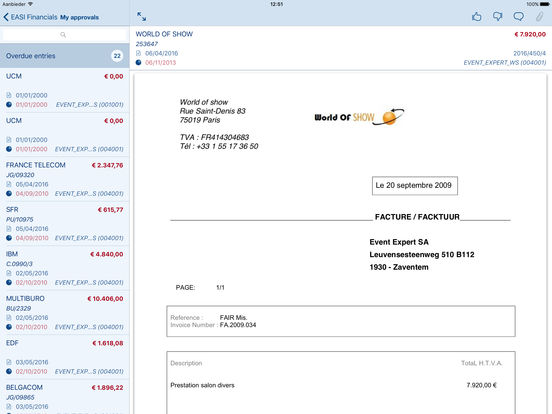 EASI Financials Mobile 5.0