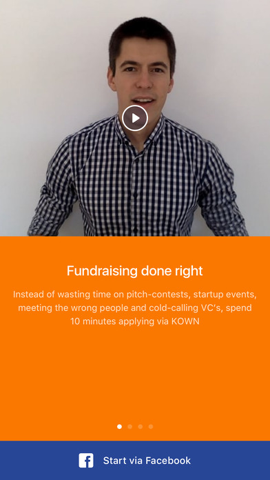 Fundraise on Kown (for tech startups)