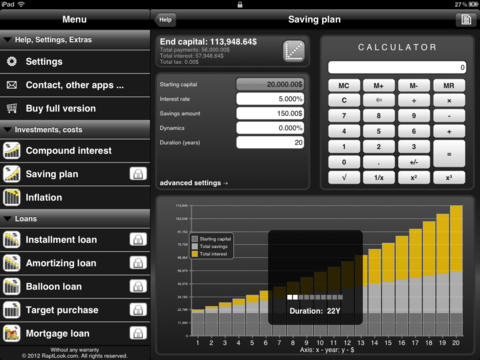 Finance Calculator Pro: Lite