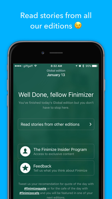 Finimize - Pocket-sized Finance News