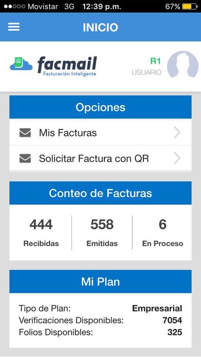 Facmail - Facturación CFDI