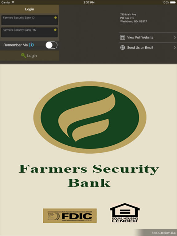 Farmers Security Bank