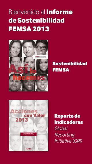 FEMSA Sostenibilidad 2013 Móvil