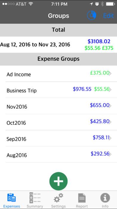 Expense Income Recorder Flexi