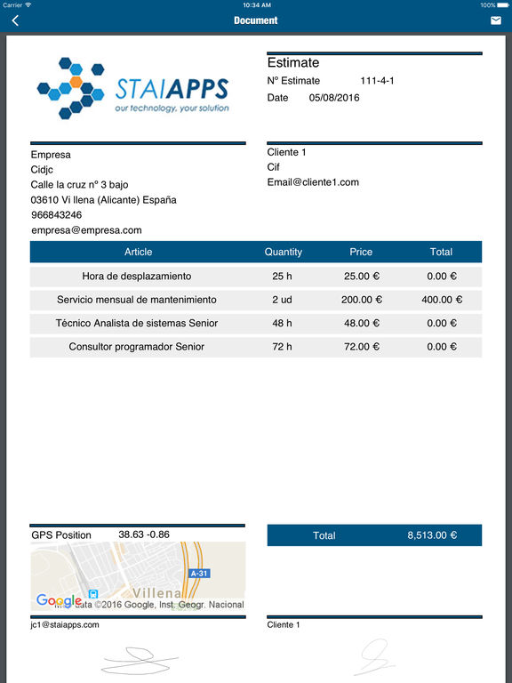 EstimateAPP