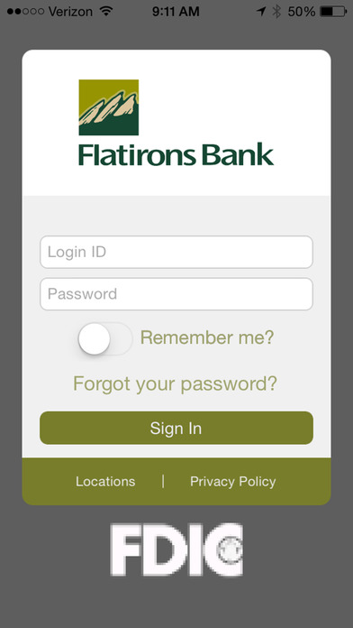 Flatirons Bank Mobile Banking