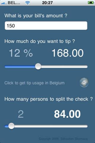 Easy Tip Calculator