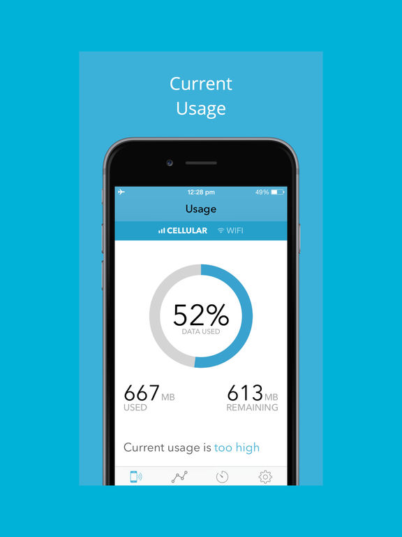 Data Tracker - Mobile Data Usage Monitor