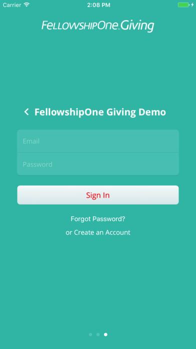 FellowshipOne Giving