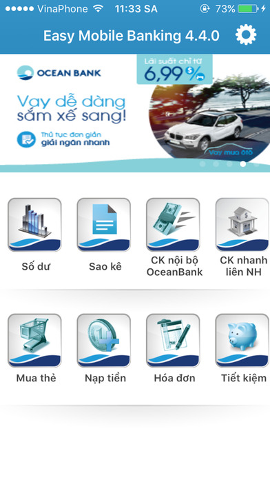 Easy Mobile Banking