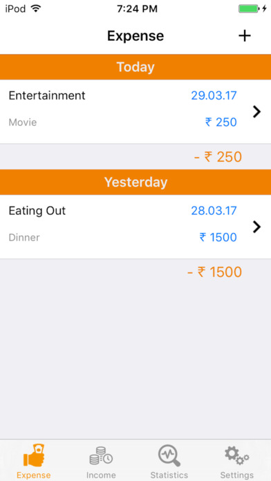 Expense Tracker - Money Manager