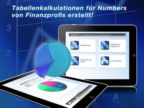 FinanzManager für Numbers