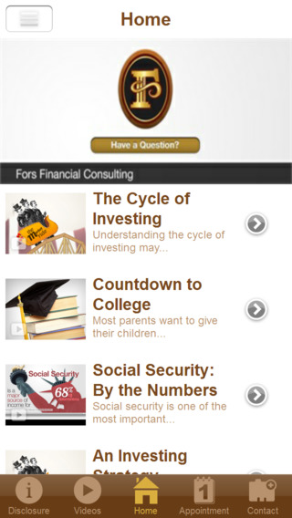 Fors Financial Consulting, PS