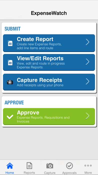 ExpenseWatch Mobile App