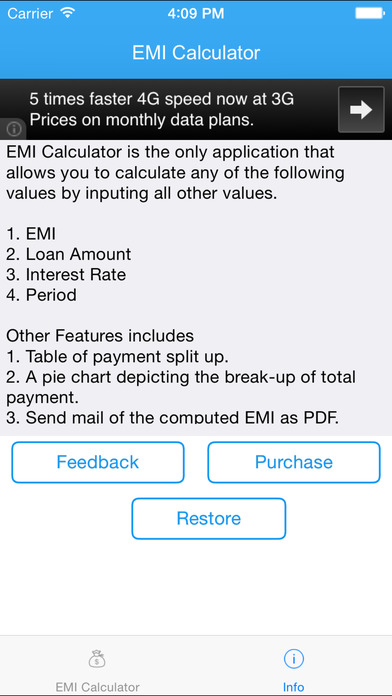 EMI Calculator 2014 Free