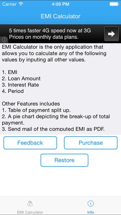 EMI Calculator 2014 Free