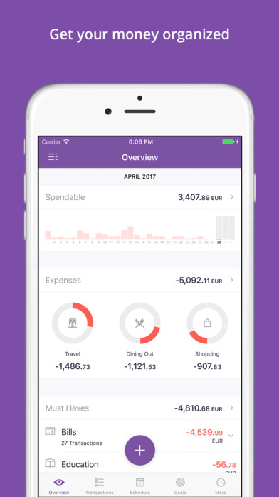 Fentury: Personal Finance, Money & Budget Manager